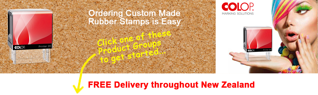 Order your Customised Stamps Using Our Unique Stamp Designer