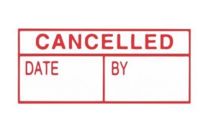 CANCELLED DATE/BY