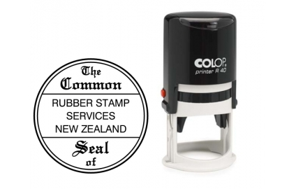 Self-Inking Common Seal